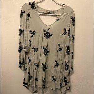 Free People Floral Dress